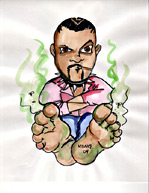 Caricature - Marvin