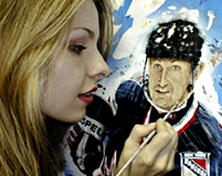 Karen O'Neil Ganci - Hand-Painted Sports Art